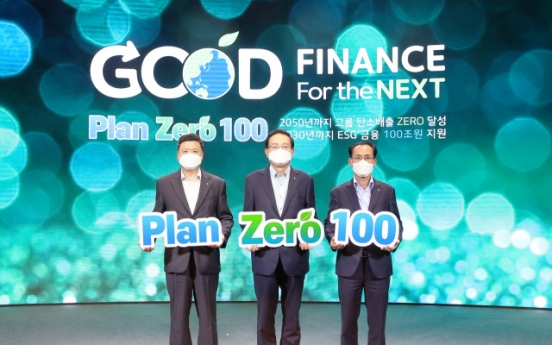 Woori Financial to invest W100tr in ESG-related products by 2030