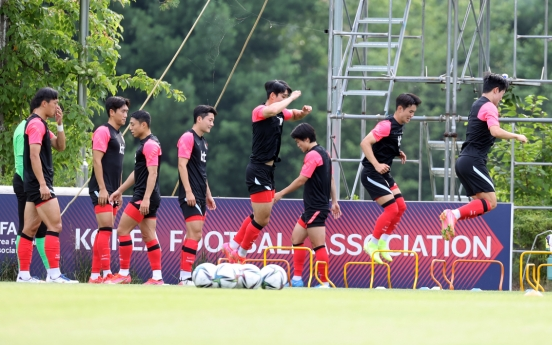 S. Korea keeping things close to vest ahead of final Olympic football tuneups