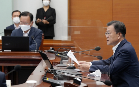 Moon says very sorry for asking people to endure toughest social distancing rules
