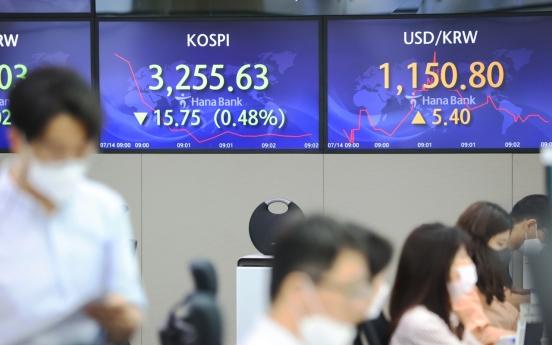 Seoul stocks open lower on increasing price pressure