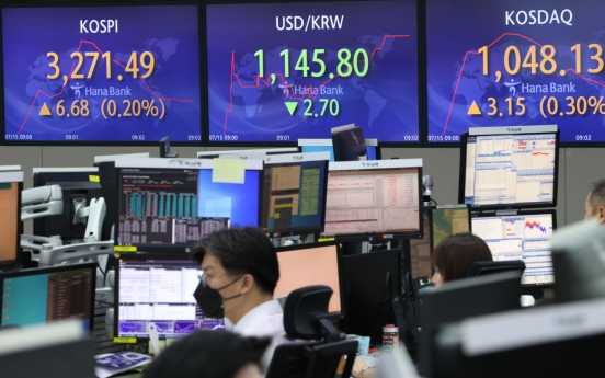 Seoul stocks open higher on Fed's reassuring comments