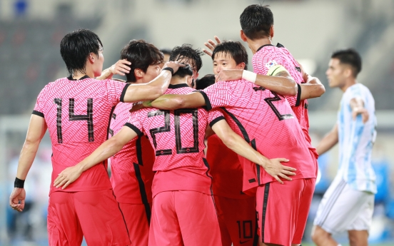 S. Korea seeking bigger confidence boost in final Olympic football prep match vs. France