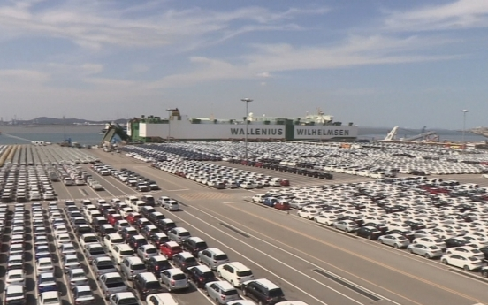 Auto exports surge 28% in H1 on global economic recovery
