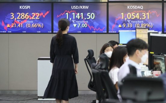 Seoul stocks up on Fed's comments, improved China data