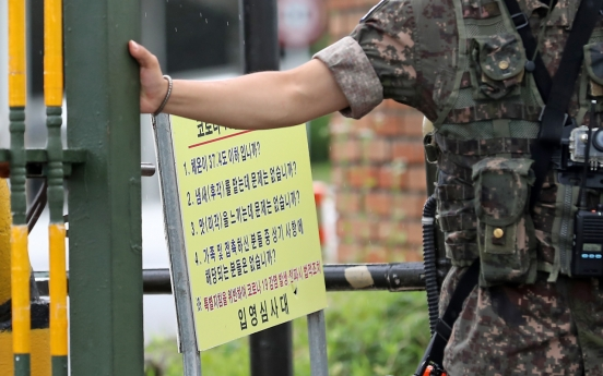 4 more newly enlisted soldiers at boot camp test positive for virus