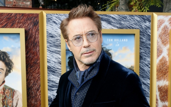 Robert Downey Jr. to star in director Park Chan-wook's HBO drama