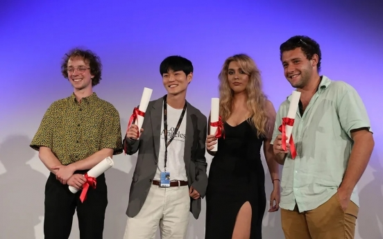 Young Korean director wins 2nd prize at Cannes awards for student filmmakers