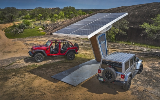 Jeep pledges to bring 1 electric vehicle every year to S. Korea
