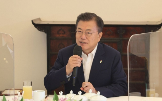 Approval ratings of Moon, ruling party climb for 2nd consecutive week: poll