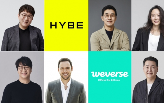 Who are the key players at Hybe in the post-Bang Si-hyuk era?