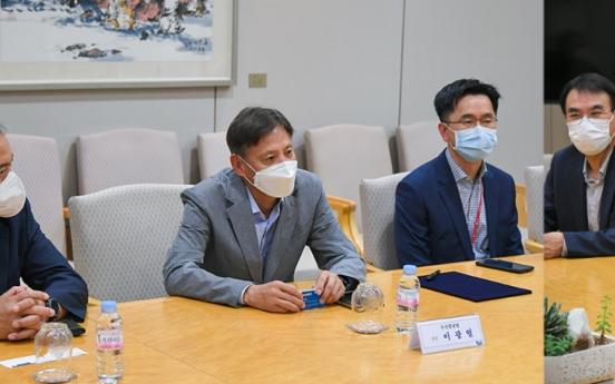 Posco partners with Doosan to develop ammonia-extracted hydrogen gas turbines
