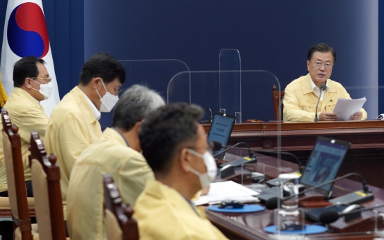 Moon vows more support for coronavirus-hit small businesses