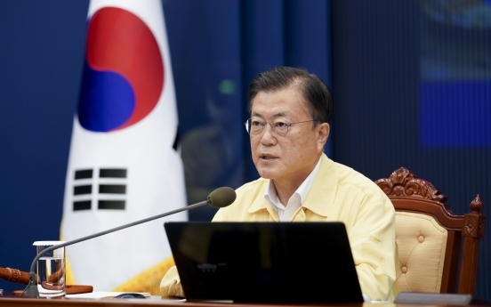 Moon calls for thorough preparations for changing trade conditions