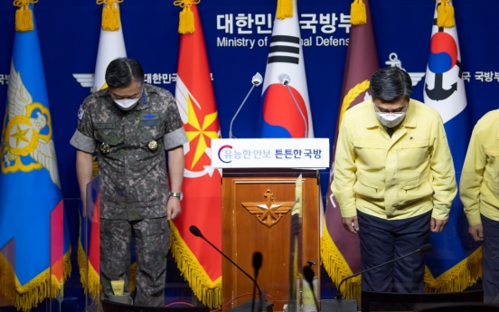 Defense chief apologizes for worst COVID outbreak aboard ship