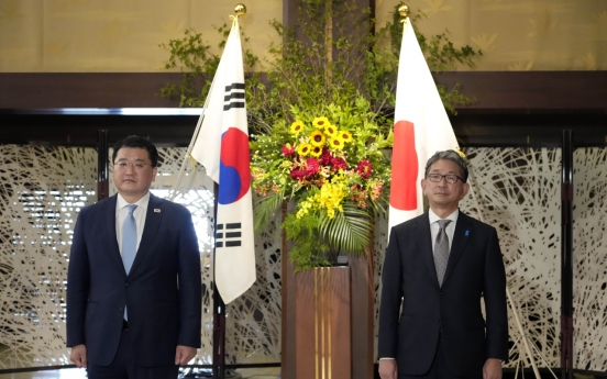 S. Korea, Japan agree to continue efforts to resolve pending issues despite tension over diplomat's remarks