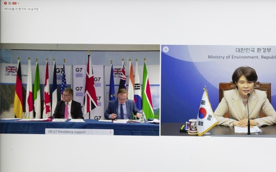 Korea to take part in G-20 environment ministers' meeting in Italy