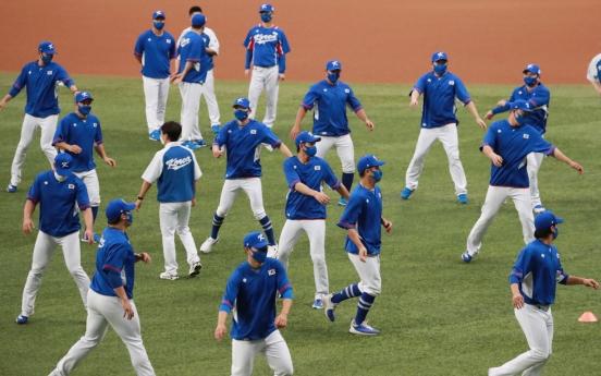 [Tokyo Olympics] S. Korean baseball team schedules 2 more tuneup games