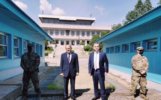 Defense chiefs of S. Korea, Britain agree to strengthen cooperation