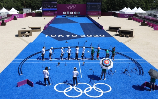 [Tokyo Olympics] S. Korea aiming to make more Olympic archery history as competition opens with ranking rounds