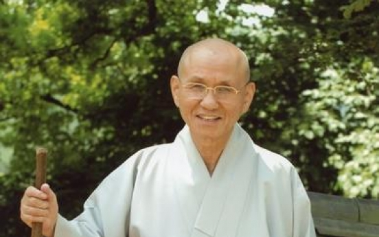 Former chief of S. Korea's largest Buddhist sect, social activist dies