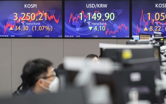 Seoul stocks snap 4-day losing streak on earnings hope