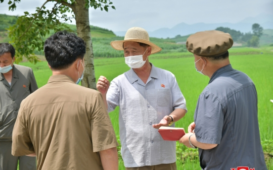 NK paper calls grain production 'life-or-death' matter