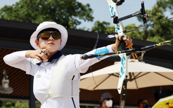[Tokyo Olympics] With 2 Olympic records, S. Korea throws down gauntlet early in archery