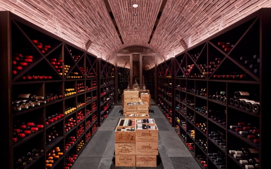 The Margaux Grill at JW Marriott Hotel Seoul recognized for wine selection