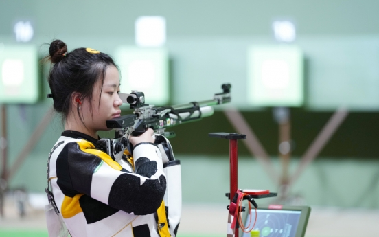 [Tokyo Olympics] Chinese shooter Yang wins first gold of Tokyo Olympics