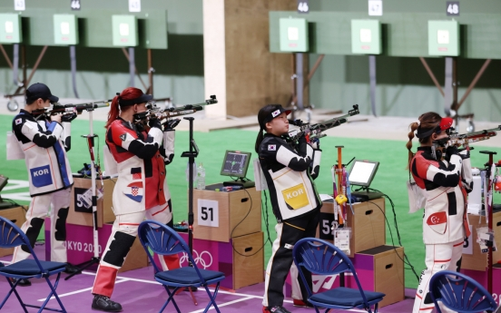 [Tokyo Olympics] Rifle shooters falter in bid for S. Korea's first medal