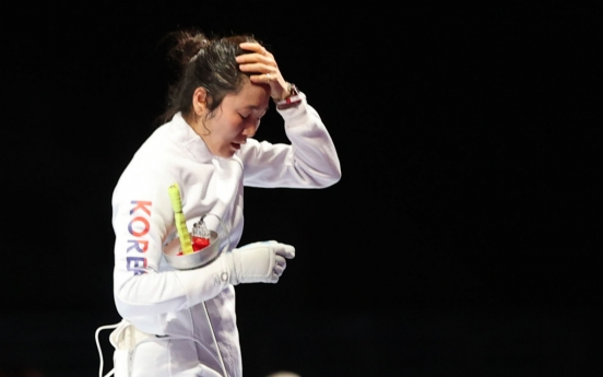 [Tokyo Olympics] High-ranked S. Korean epee fencers gone after one match