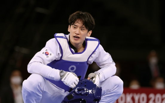 [Tokyo Olympics] Shocked taekwondo star rues another missed opportunity