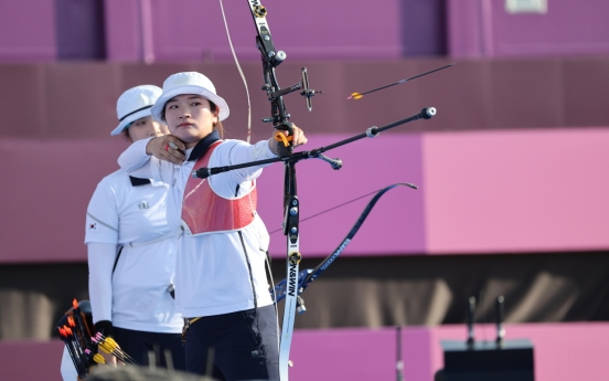 [Tokyo Olympics] Young veteran archer makes Olympic debut count with historic team gold