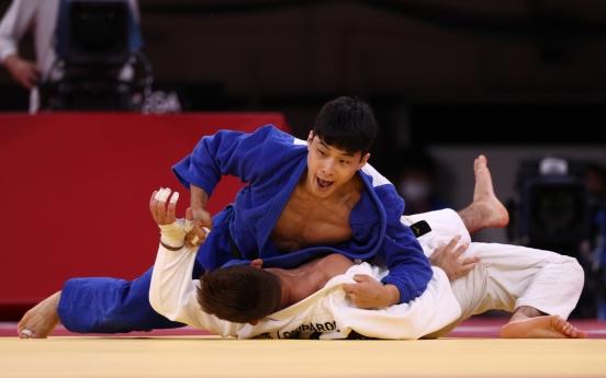 [Tokyo Olympics] An Baul wins bronze in men's judo