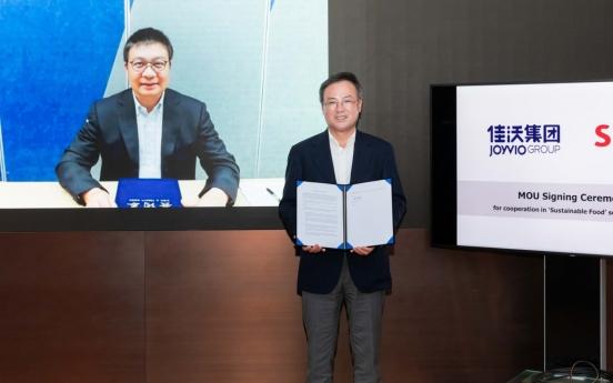 SK partners with Joyvio Group, eyes Chinese alternative food market