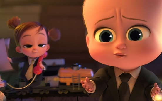 'The Boss Baby' sequel tops S. Korean box office over weekend