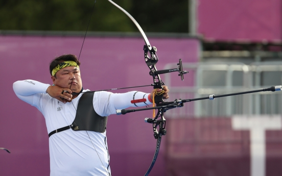 [Tokyo Olympics] S. Korea wins 2nd consecutive gold in archery men's team event