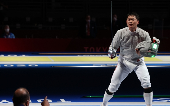 [Tokyo Olympics] Top-ranked fencer to seek redemption in team event
