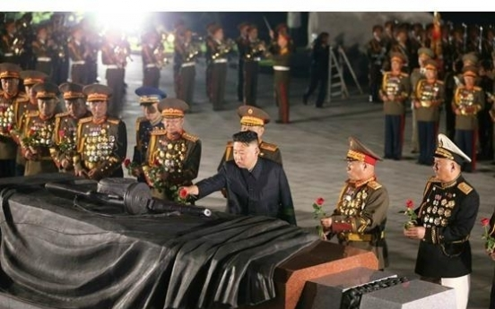 NK leader pays respects to fallen soldiers to mark anniversary of Korean War armistice