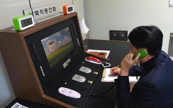 Chronology of major events leading to restoration of inter-Korean communication lines