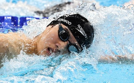 [Tokyo Olympics] Teen swimmer Hwang Sun-woo breaks natl. record in 100m freestyle
