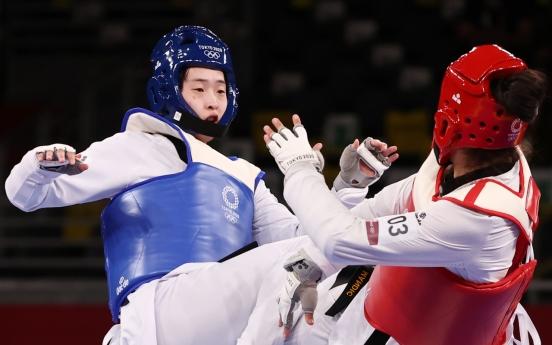 [Tokyo Olympics] Lee Da-bin wins silver in women's taekwondo