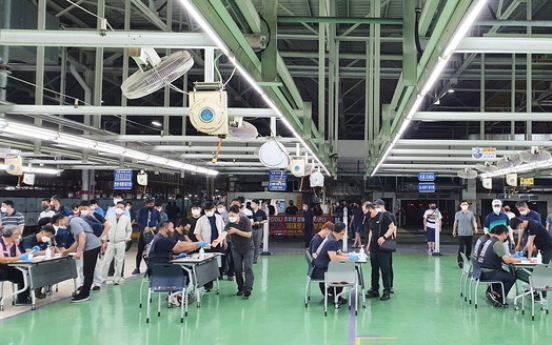 Hyundai workers accept company's wage offers amid pandemic