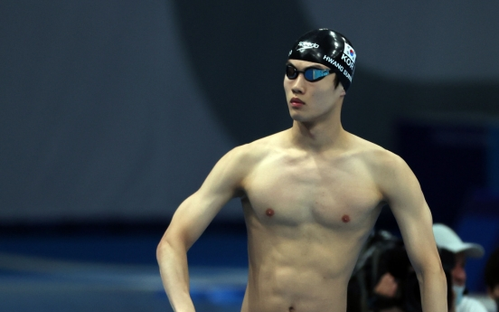 [Tokyo Olympics] Record-breaking swimmer just happy to be in final in 100m freestyle