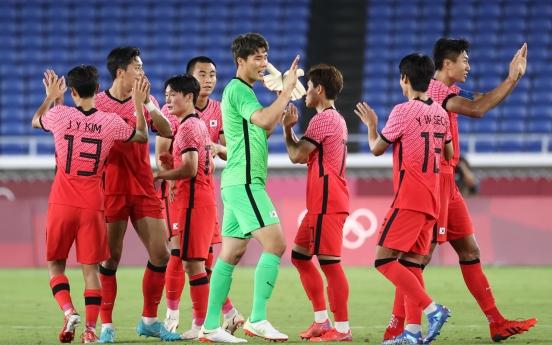 [Tokyo Olympics] S. Korea rout 10-man Honduras to reach men's football quarterfinals
