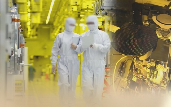 S. Korea to spend over W5tr in supporting chips, 2 other sectors next year