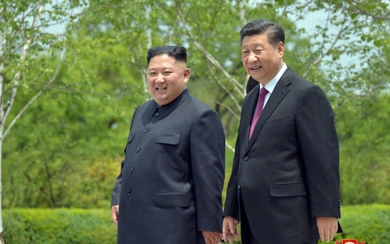 Xi vows to strengthen China-N. Korea ties in letter to Kim