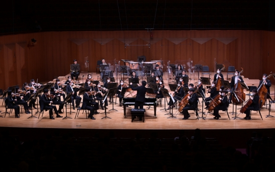 [Herald Review] Pianist Kim Sun-wook shines in conductor role