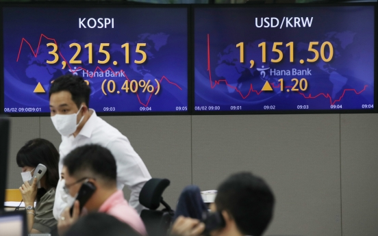 Seoul stocks open higher on solid export data
