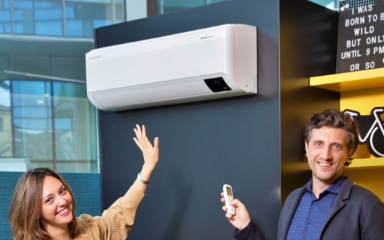 Samsung to expand overseas sales of wind-free air conditioner